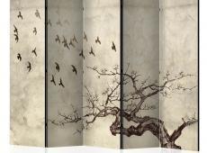 Paraván - Flock of birds II [Room Dividers]